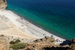 Пляж Илигас в Ханье