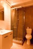 Ванная комната. Греция, Агиос Прокопиос : Уютная вилла с бассейном и приватным двориком, 2 спальни, 2 ванные комнаты, парковка, Wi-Fi