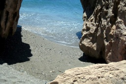 Пляж Лигрес в Аделе