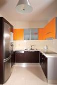 Кухня. Греция, Ретимно : Роскошная пляжная вилла с бассейном и игровой комнатой, 6 спален, 4 ванные комнаты, парковка, Wi-Fi