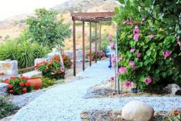 Территория. Греция, Плакиас : Замечательная вилла с бассейном и видом на море, 3 спальни, 2 ванные комнаты, джакузи, зеленый сад, барбекю, парковка, Wi-Fi