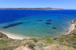 Ближайший пляж. Греция, Каливес : Роскошная вилла с бассейном и шикарным видом на море, 150 метров до пляжа, 5 спален, 3 ванные комнаты, джакузи, барбекю, парковка, Wi-Fi