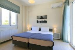 Спальня 3. Греция, Ретимно : Прекрасная вилла с бассейном и двориком с барбекю, 3 спальни, 2 ванные комнаты, парковка, Wi-Fi