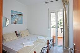 Спальня 3. Греция, Бали : Современная вилла с бассейном и барбекю, 4 спальни, 2 ванные комнаты, парковка, Wi-Fi