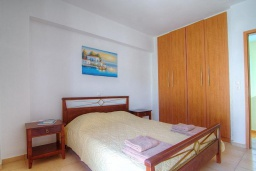 Спальня 3. Греция, Бали : Современная вилла с бассейном и барбекю, 3 спальни, 2 ванные комнаты, парковка, Wi-Fi