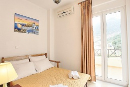 Спальня 2. Греция, Бали : Современная вилла с бассейном и барбекю, 4 спальни, 2 ванные комнаты, парковка, Wi-Fi