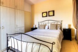 Спальня 5. Греция, Сиси : Роскошная вилла с бассейном и зеленым двориком, 6 спален, 2 ванные комнаты, барбекю, парковка, Wi-Fi