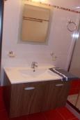 Ванная комната. Греция, Плакиас : Прекрасная вилла с бассейном и шикарным видом на море, 2 спальни, парковка, Wi-Fi