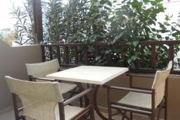 Балкон. Греция, Платаньяс : Прекрасная студия в комплексе с бассейном и пляжем