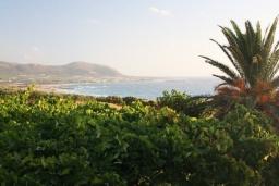 Вид на море. Греция, Фаласарна : Апартамент с гостиной, отдельной спальней и балконом с видом на море