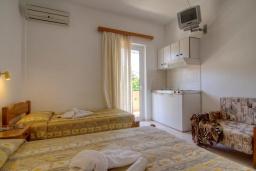 Студия (гостиная+кухня). Греция, Плакиас : Прекрасная студия в комплексе с бассейном в 80 метрах от пляжа