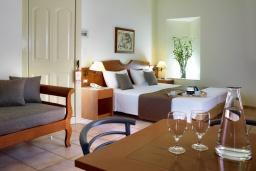 Студия (гостиная+кухня). Греция, Агия Марина : Номер-студио в комплексе с бассейном и в 100 метрах от пляжа