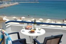 Балкон. Греция, Сития : Студия в 20 метрах от пляжа