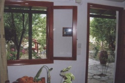 Гостиная. Греция, Амудара : Апартамент в комплексе с бассейном, с гостиной, отдельной спальней и террасой