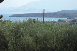 Вид на море. Греция, Амудара : Апартамент в комплексе с бассейном, с гостиной, двумя спальнями и балконом с видом на море