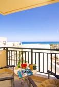 Греция, Скалета : Улучшенный апартамент в комплексе с бассейном, с гостиной, отдельной спальней и балконом с видом на море