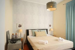 Спальня. Греция, Ретимно : Апартамент с гостиной, тремя спальнями и балконом