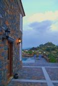 Территория. Греция, Амудара : Прекрасная вилла с 2 спальнями, с бассейном, солнечной террасой с патио и барбекю
