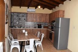 Кухня. Греция, Аделе : Уютный дом с 3-мя спальнями, двумя ванными комнатами и террасой с прекрасным видом