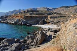 Пляж Агиос Хараламбос в Ханье