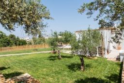Территория. Греция, Платаньяс : Уютная вилла с бассейном и зеленым двориком с барбекю, парковка, Wi-Fi