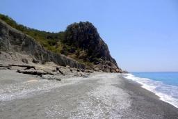 Пляж Домата в Ханье