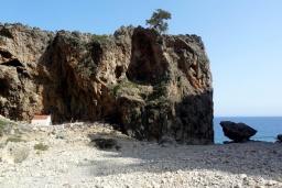 Пляж Тририти в Ханье