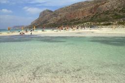 Пляж Лагуна Балос в Ханье
