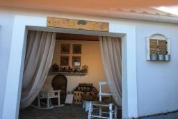 Территория. Греция, Айос Прокопиос : Роскошная вилла с бассейном и зеленым двориком с барбекю, 5 спален, 4 ванные комнаты, парковка, Wi-Fi