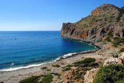Пляж Агиос Павлос (Родопос) в Ханье