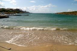 Пляж Агиос Онуфриос в Ханье