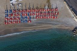Пляж Палиокастро в Айя Пелагия