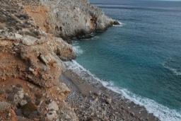 Пляж Тихида в Айос Николасе