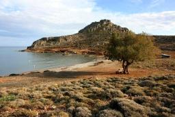 Пляж Амату в Айос Николасе