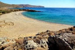Пляж Карумес в Айос Николасе