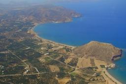 Пляж Куременос в Айос Николасе