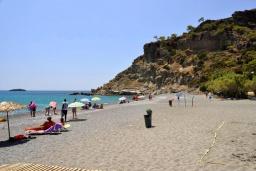 Пляж Агия Фотья в Айос Николасе