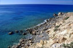 Пляж Катарадес в Айос Николасе