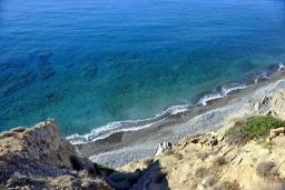 Пляж Сарикампос в Айос Николасе