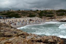 Пляж Буфос в Айос Николасе