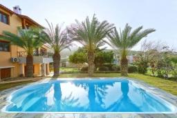 Бассейн. Греция, Ираклион : Шикарная вилла с бассейном и зеленым двориком, 5 спален, 3 ванные комнаты, барбекю, парковка, Wi-Fi