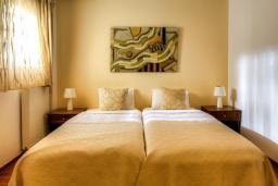 Спальня 3. Греция, Сиси : Роскошная вилла с бассейном и зеленым двориком, 6 спален, 2 ванные комнаты, барбекю, парковка, Wi-Fi