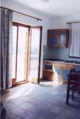 Студия (гостиная+кухня). Греция, Фаласарна : Студия недалеко от пляжа, с балконом и видом на море