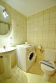 Ванная комната. Греция, Ретимно : Студия на первом этаже с террасой в 100 метрах от пляжа