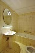 Ванная комната. Греция, Ретимно : Апартамент на первом этаже, с гостиной, отдельной спальней и террасой, в 100 метрах от пляжа