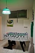 Развлечения и отдых на вилле. Греция, Гувес : Роскошная вилла в 30 метрах от пляжа и с видом на море, 4 спальни, 3 ванные комнаты, игровая комната с бильярдом, зеленый дворик, парковка, Wi-Fi
