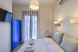 Спальня 3. Греция, Ханья : Уютная вилла с видом на море, с 3 спальнями, с бассейном и патио с барбекю