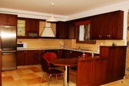 Кухня. Греция, Иерапетра : Прекрасная вилла с потрясающим видом на горы, с 2 спальнями, с бассейном, солнечной террасой с патио и барбекю
