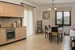 Кухня. Греция, Скалета : Прекрасная вилла с видом на море, с 5 спальнями, с бассейном, беседкой с патио и каменным барбекю